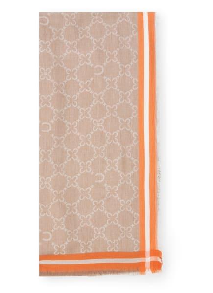 CODELLO Tuch, Farbe: TAUPE/ ORANGE (Bild 1)