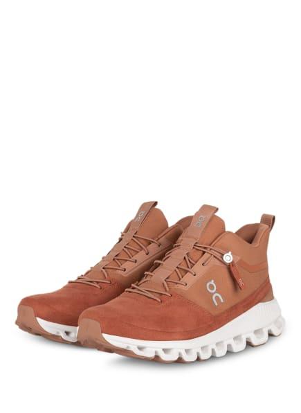 On Running Sneaker CLOUD HI, Farbe: DUNKELORANGE (Bild 1)