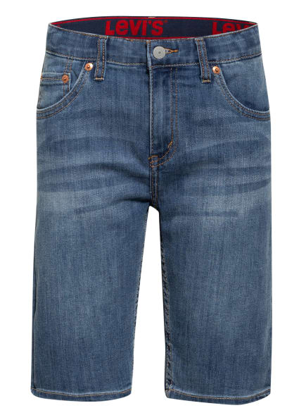 Levi's® Jeansshorts, Farbe: BLAU (Bild 1)