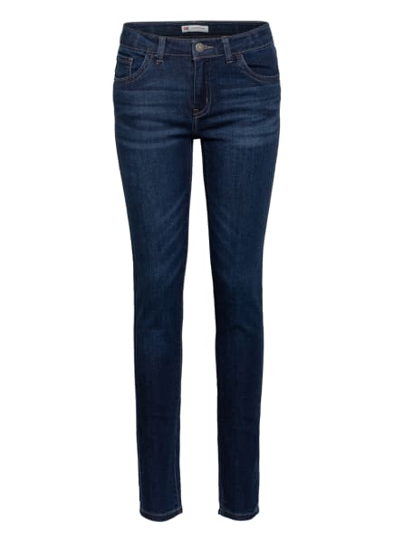 Levi's® Jeans 710 Super Skinny Fit, Farbe: DUNKELBLAU (Bild 1)