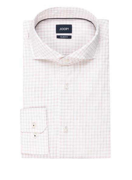 JOOP! Hemd PEJOS Slim Fit, Farbe: WEISS/ BEIGE (Bild 1)