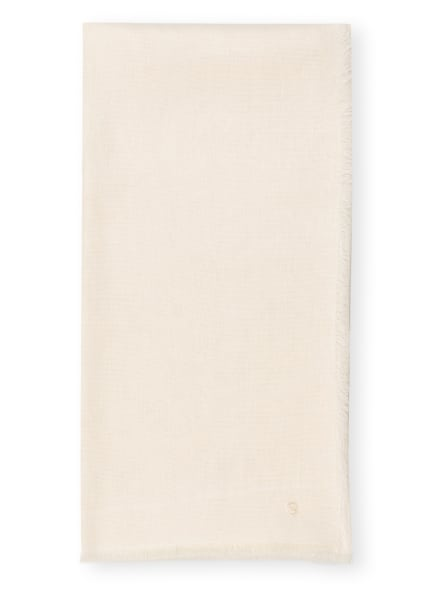 Marc O'Polo Schal mit Leinen, Farbe: ECRU (Bild 1)