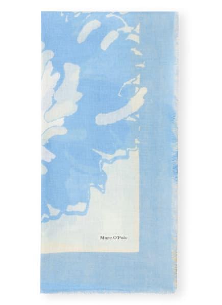 Marc O'Polo Schal mit Leinen, Farbe: HELLBLAU/ WEISS/ ROSA (Bild 1)