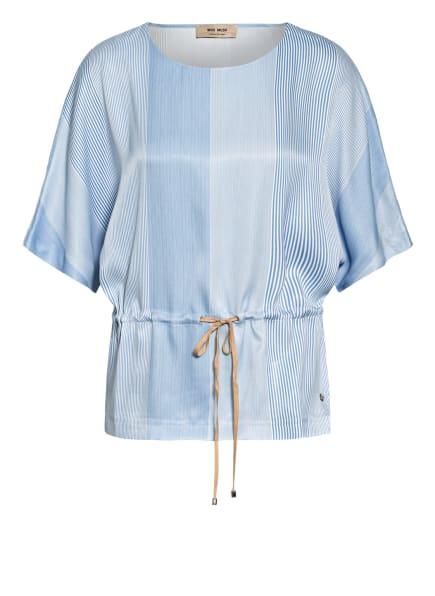MOS MOSH Blusenshirt, Farbe: HELLBLAU/ WEISS (Bild 1)