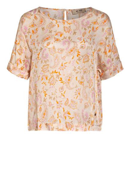 MOS MOSH Blusenshirt PALMA, Farbe: HELLORANGE/ ORANGE/ BEIGE (Bild 1)