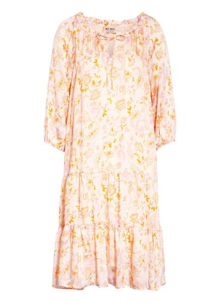 MOS MOSH Kleid TINKA mit 3/4-Arm, Farbe: HELLORANGE/ ORANGE/ BEIGE (Bild 1)