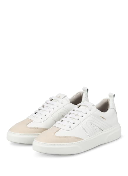 COPENHAGEN Plateau-Sneaker, Farbe: WEISS/ CREME (Bild 1)
