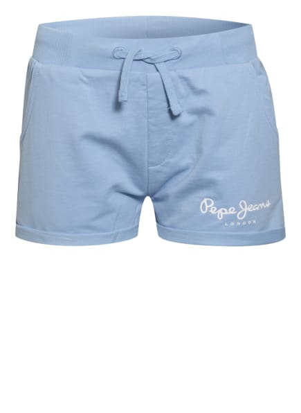 Pepe Jeans Sweatshorts, Farbe: HELLBLAU (Bild 1)
