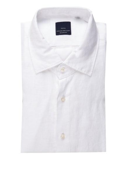 EDUARD DRESSLER Leinenhemd Shaped Fit, Farbe: WEISS (Bild 1)