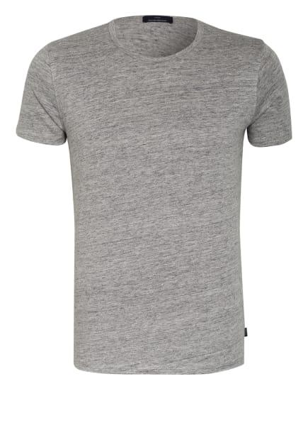 EDUARD DRESSLER T-Shirt aus Leinen, Farbe: GRAU/ WEISS (Bild 1)
