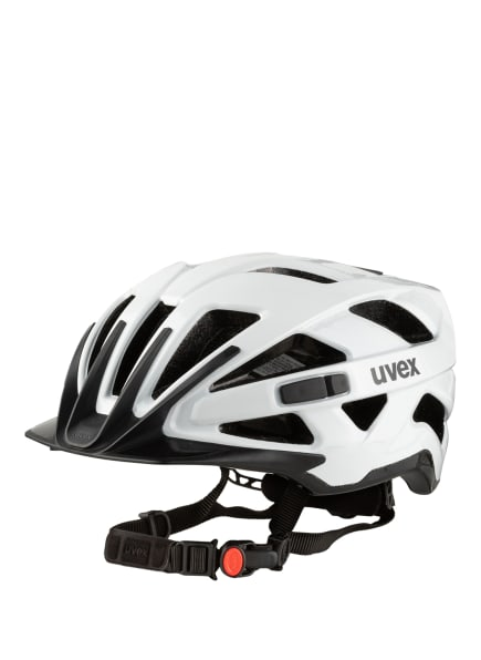uvex Fahrradhelm ACTIVE, Farbe: WEISS/ SCHWARZ (Bild 1)