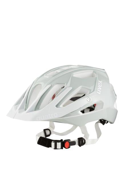 uvex Fahrradhelm QUATRO, Farbe: HELLGRAU (Bild 1)