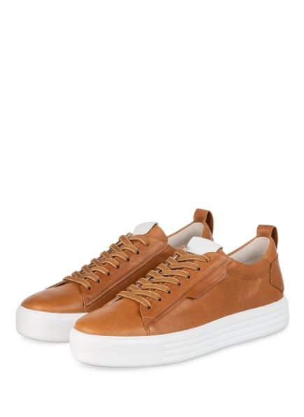 KENNEL & SCHMENGER Sneaker UP, Farbe: COGNAC (Bild 1)