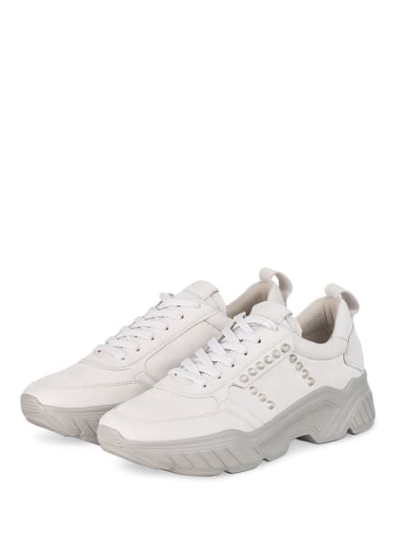 KENNEL & SCHMENGER Plateau-Sneaker BOOM mit Nietenbesatz, Farbe: HELLGRAU (Bild 1)