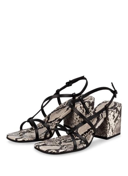 KENNEL & SCHMENGER Sandaletten CALI , Farbe: SCHWARZ/ GRAU (Bild 1)