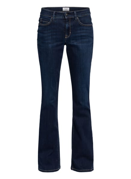 CAMBIO Flared Jeans PARLA, Farbe: 5158 west coast dark used (Bild 1)