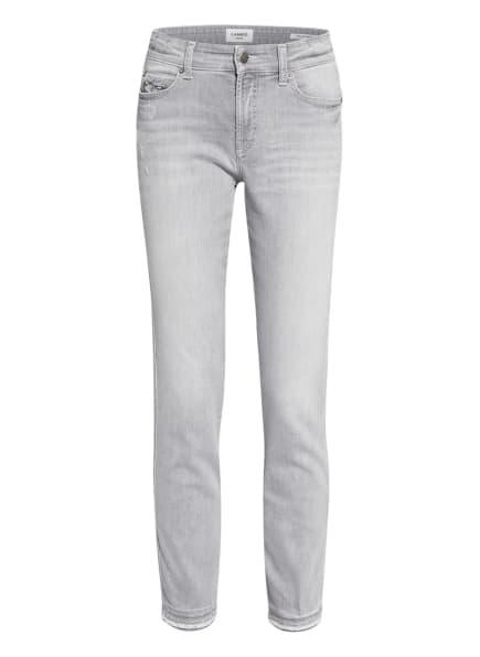 CAMBIO Skinny Jeans PARIS mit Schmucksteinbesatz, Farbe: 5340 grey denim (Bild 1)