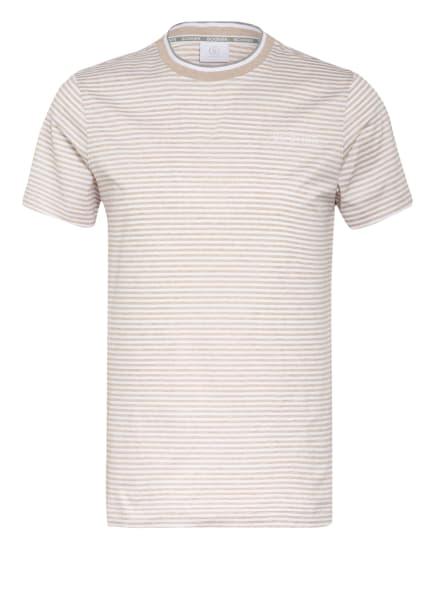 BOGNER T-Shirt RAFAEL, Farbe: BEIGE/ WEISS (Bild 1)