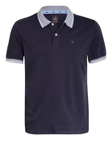 BOGNER Jersey-Poloshirt LIGOS, Farbe: DUNKELBLAU/ WEISS (Bild 1)