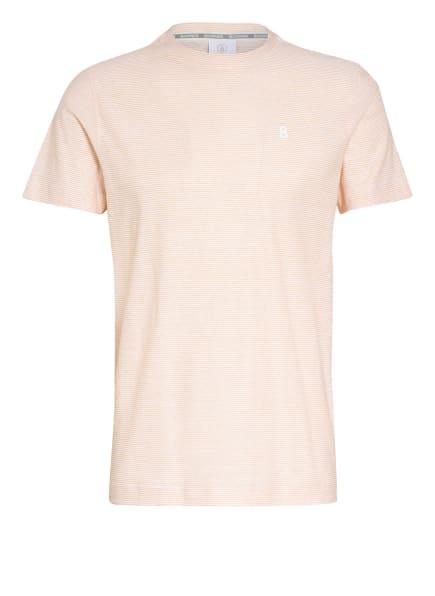 BOGNER T-Shirt DOUG, Farbe: WEISS/ HELLORANGE (Bild 1)