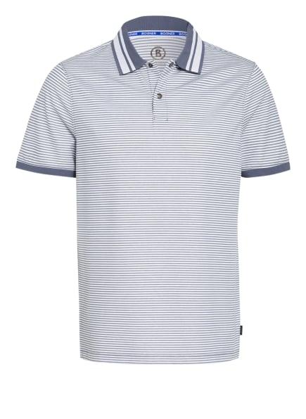 BOGNER Piqué-Poloshirt CLAUS Regular Fit , Farbe: BLAUGRAU/ WEISS (Bild 1)