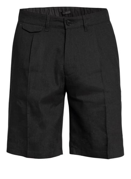 DRYKORN Shorts ABROAD mit Leinen, Farbe: SCHWARZ (Bild 1)