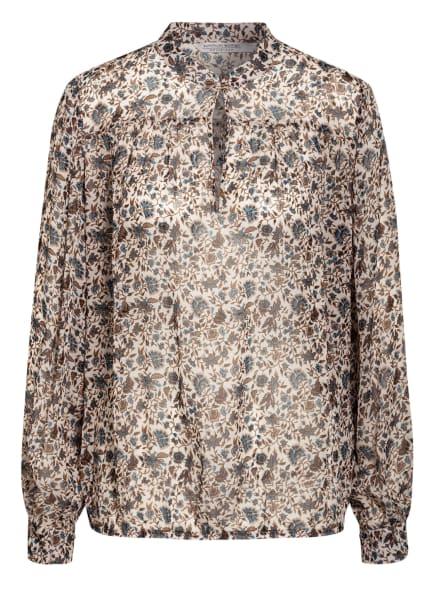 summum woman Blusenshirt, Farbe: CREME/ BRAUN/ HELLBLAU (Bild 1)