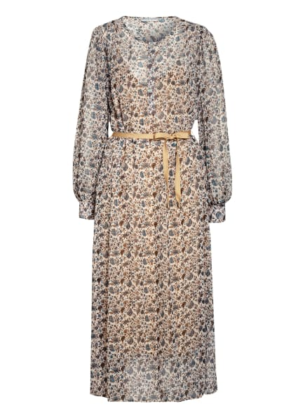 summum woman Kleid , Farbe: CREME/ HELLBLAU/ BRAUN (Bild 1)