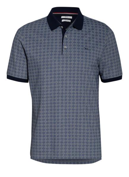 BRAX Piqué-Poloshirt PERRY, Farbe: BLAU/ DUNKELBLAU/ WEISS (Bild 1)