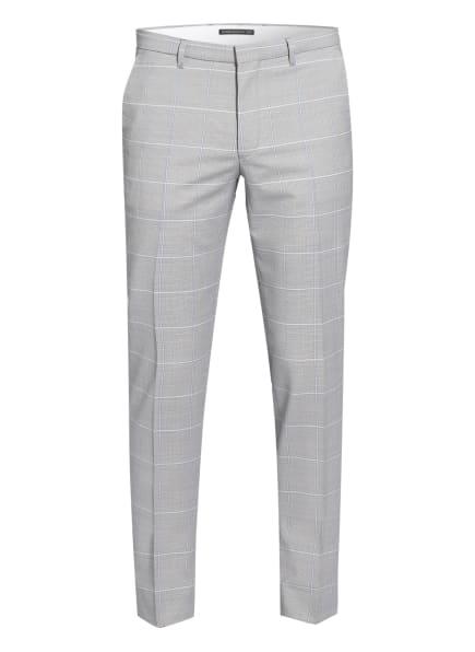 DRYKORN Anzughose FOOT Slim Fit, Farbe: WEISS/ HELLBLAU/ HELLGRAU (Bild 1)