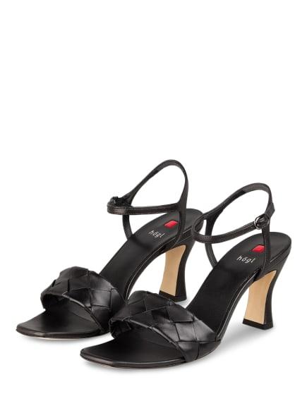 Högl Sandaletten FELICITAS, Farbe: SCHWARZ (Bild 1)