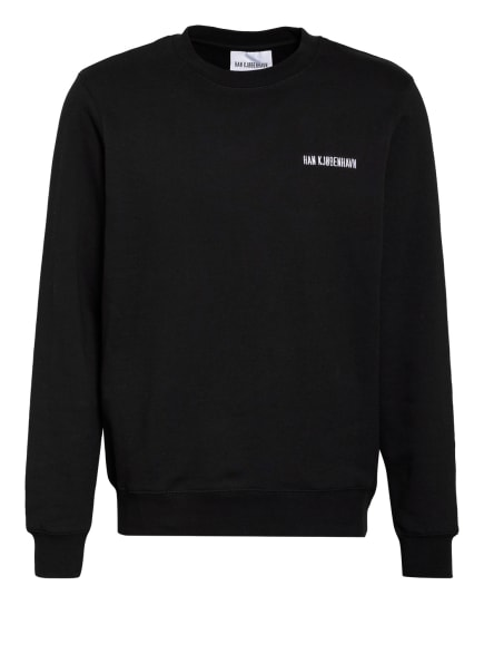 HAN KJØBENHAVN Sweatshirt, Farbe: SCHWARZ (Bild 1)