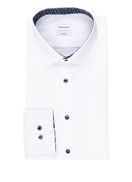 seidensticker Hemd Shaped Fit, Farbe: WEISS (Bild 1)