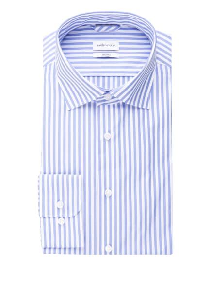 seidensticker Hemd Shaped Fit, Farbe: HELLBLAU/ WEISS (Bild 1)