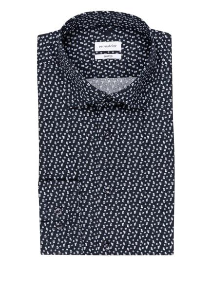 seidensticker Hemd Shaped Fit, Farbe: DUNKELBLAU/ HELLBLAU/ WEISS (Bild 1)