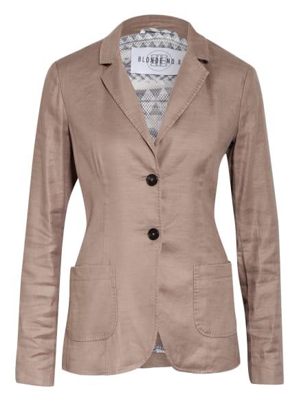 BLONDE No.8 Blazer LAVAL mit Leinen, Farbe: TAUPE (Bild 1)