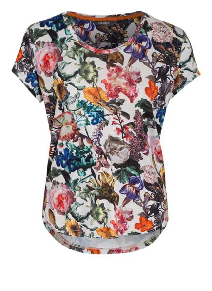 ESSENZA Lounge-Shirt SAONA FAMKE, Farbe: WEISS/ SCHWARZ/ GRÜN (Bild 1)