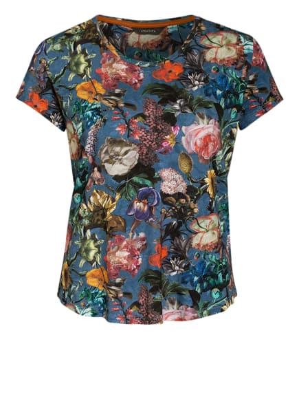 ESSENZA Lounge-Shirt SAONA FAMKE, Farbe: BLAU/ GRÜN/ SCHWARZ (Bild 1)