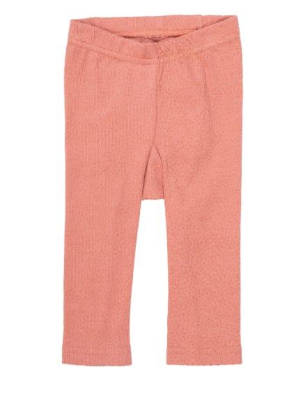 HUST and CLAIRE Leggings mit Glitzergarn , Farbe: ROSA/ GOLD (Bild 1)