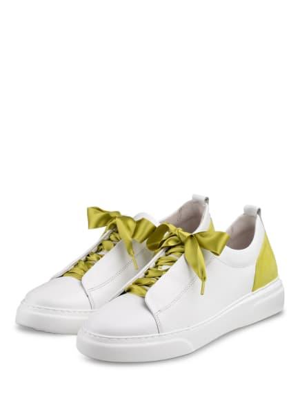 Gabor Plateua-Sneaker, Farbe: WEISS (Bild 1)