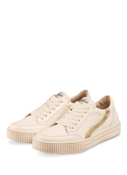 Gabor Sneaker, Farbe: CREME (Bild 1)
