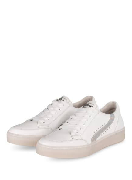 Gabor Sneaker, Farbe: WEISS (Bild 1)