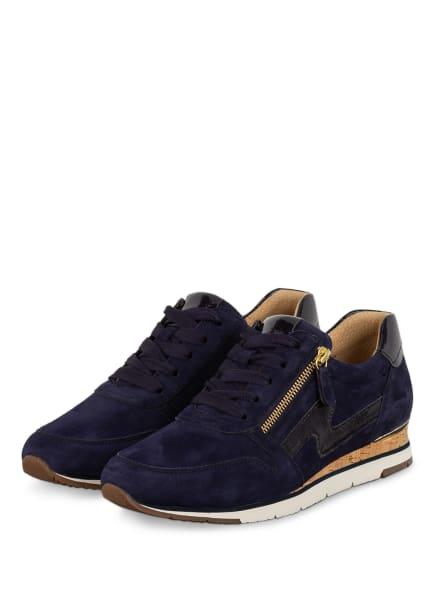 Gabor Plateau-Sneaker , Farbe: DUNKELBLAU (Bild 1)
