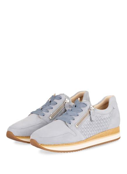Gabor Plateau-Sneaker , Farbe: HELLBLAU (Bild 1)