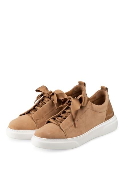 Gabor Plateau-Sneaker, Farbe: HELLBRAUN (Bild 1)