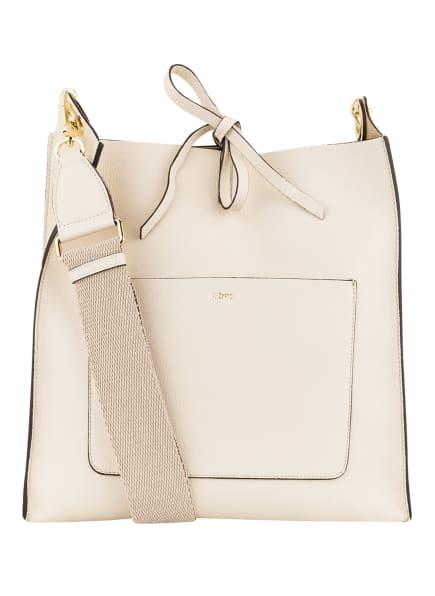 abro Hobo-Bag RAQUEL mit Pouch, Farbe: CREME (Bild 1)