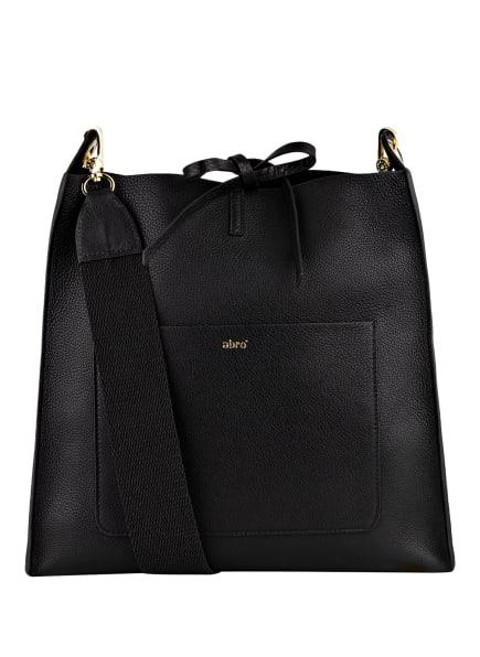 abro Hobo-Bag RAQUEL mit Pouch, Farbe: SCHWARZ (Bild 1)