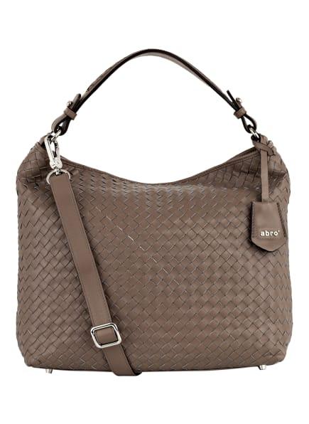 abro Hobo-Bag ELVI SMALL, Farbe: TAUPE (Bild 1)