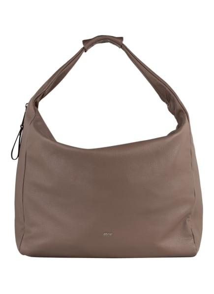abro Hobo-Bag CLAUDIA XL, Farbe: TAUPE (Bild 1)