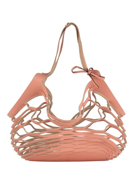 abro Shopper NETZ, Farbe: LACHS (Bild 1)